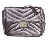 Tasche schwarz metallic