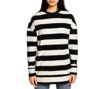 Sweatshirt schwarz/weiss