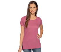 Kurzarm T-Shirt magenta