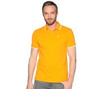 Kurzarm Poloshirt orange