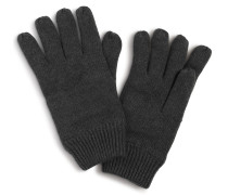 Handschuhe anthrazit meliert