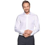 Business Hemd Custom Fit weiß