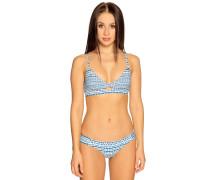 Bikini blau/weiß/türkis