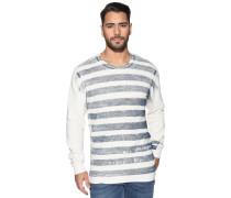 Sweatshirt offwhite/navy