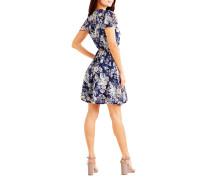 Kleid blau/grau