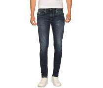 Jeans Skinny Fit dunkelblau