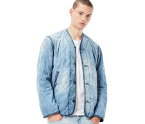Liner M Cropped Quilted - Jacke - Blau