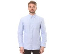 Classic Oxford L/S - Hemd - Blau