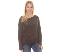Dance With Me - Strickpullover - Schwarz