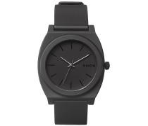 Time Teller P - Uhr - Schwarz