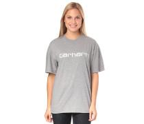 Script - T-Shirt - Grau