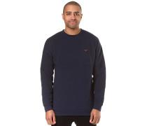 Dropshoulder - Sweatshirt - Blau