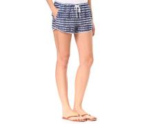 Mystic Topaz Print - Shorts - Blau