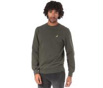 Bjarke Printed - Sweatshirt - Grün
