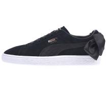 Suede Bow - Sneaker - Schwarz