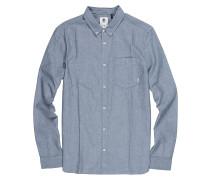 Oxford L/S - Hemd - Blau