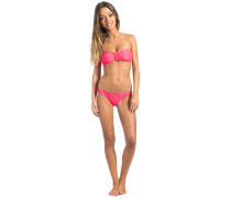 Snake Bandeau Set - Bikini Set - Pink