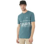 Pc-Temples Stripe - T-Shirt - Grün