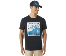 SWC-Palm Waves - T-Shirt - Schwarz
