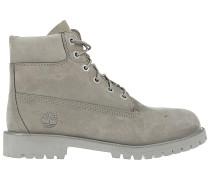 6 inch Premium Stiefel - Grau