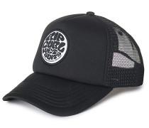 Wetty Curved - Trucker Cap - Schwarz