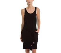 Twist Jersey - Kleid - Schwarz