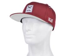 Daily Flag Snapback Cap - Rot