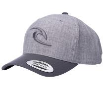 Tepan Curved Snapback Cap - Grau