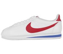 Classic Cortez Lthr Sneaker - Weiß