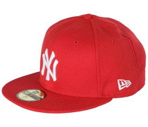 59Fifty New York Yankees Fitted Cap - Rot