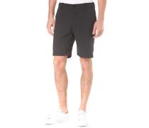 Karel Microchecks - Chino Shorts - Schwarz