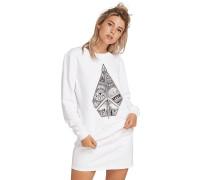 Sound Check Fleece - Sweatshirt - Weiß