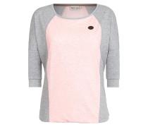 Purger Mit Burger - Langarmshirt - Pink