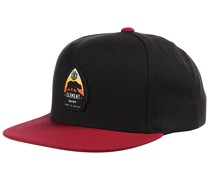 Trekker Snapback Cap - Schwarz