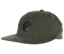 Flat 6-Panel Snapback Cap - Grün