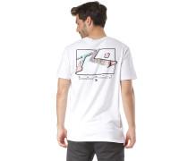 TV Screen Liquify - T-Shirt - Weiß