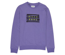 Spray Die Cut Crew - Sweatshirt - Lila
