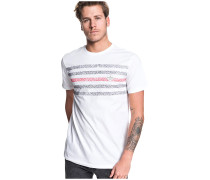 Contested Stripe - T-Shirt - Weiß