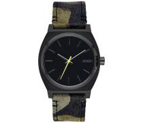 Time Teller Uhr - Schwarz