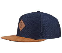 6P SB Honey Knit Snapback Cap - Blau
