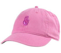 Peace Dad Cap - Pink