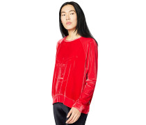 Boxy-Shape - Sweatshirt - Rot