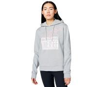 Frontprint - Sweatshirt - Grau