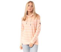 Mara Striped - Kapuzenpullover - Pink