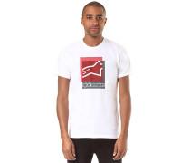 Overlap - T-Shirt - Weiß