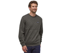 Organic Cotton Quilt Crewneck - Sweatshirt