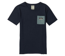 Bel Mar Pocket - T-Shirt - Blau