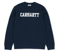 College - Sweatshirt - Blau