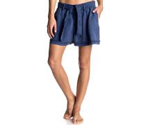 Happy End - Shorts - Blau