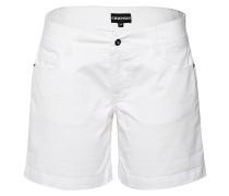 Bermuda-Shorts - Stoffhose - Weiß